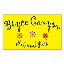 Bryce Canyon Super Cute Rectangle Decal