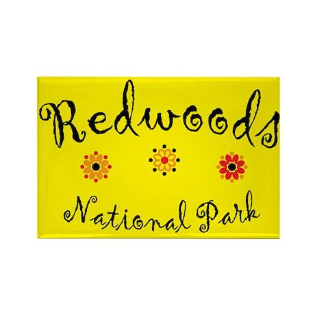 Redwoods Super Cute Rectangle Magnet