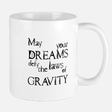 Cute Defying gravity Mug