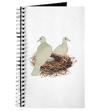 Doves in Nest Journal