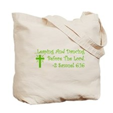 Leaping & Dancing Tote Bag