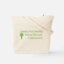 Leaping & Dancing Tote Bag
