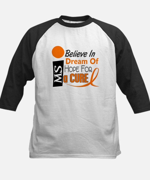 BELIEVE DREAM HOPE MS Kids Baseball Jersey