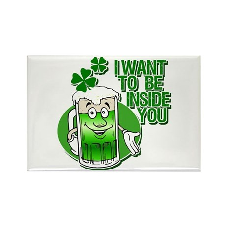 I Want To Be Inside You Rectangle Magnet (10 pack)