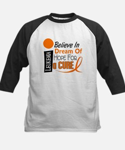 BELIEVE DREAM HOPE Leukemia Kids Baseball Jersey