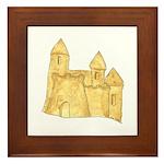 Sandcastle Framed Tile