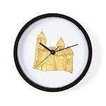 Sandcastle Wall Clock