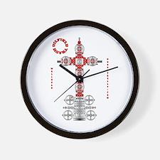 Oilfield Trash Wall Clock, Oilpatch Gift, Gas, Oil