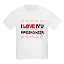 I Love My Pipe Engineer T-Shirt