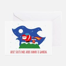 Santa Greeting Card (Pk of 10)