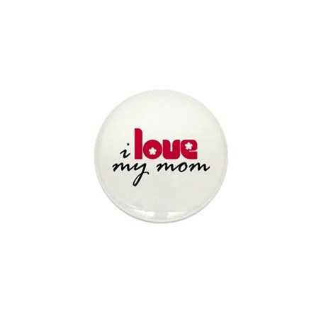 My Mom Mini Button (10 pack)