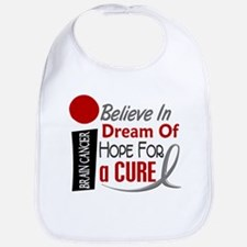 BELIEVE DREAM HOPE Brain Cancer Bib