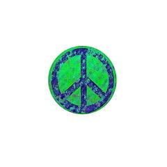 Splatter Peace Mini Button (100 pack)