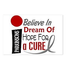 BELIEVE DREAM HOPE Parkinson's Postcards (Package