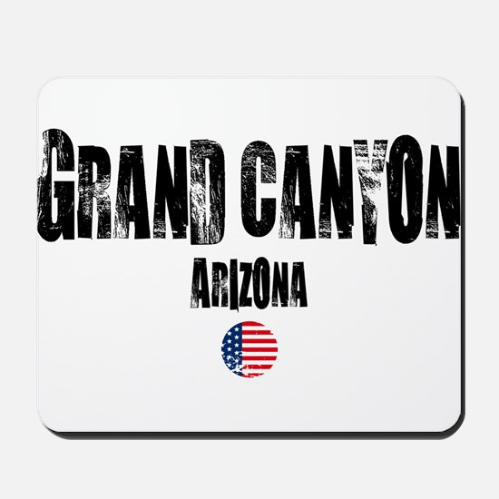 Grand Canyon Grunge Mousepad
