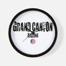 Grand Canyon Grunge Wall Clock