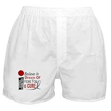 BELIEVE DREAM HOPE J Diabetes Boxer Shorts