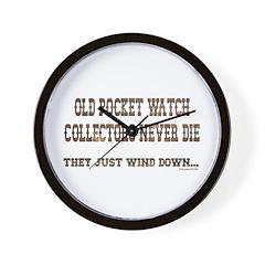 Wind Down1 Wall Clock