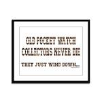 Wind Down1 Framed Panel Print