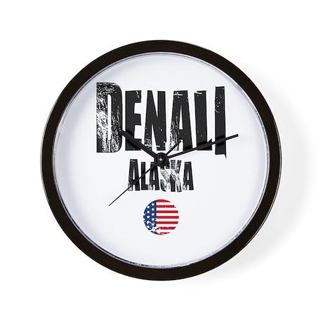 Denali Grunge Wall Clock