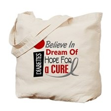 BELIEVE DREAM HOPE Diabetes Tote Bag