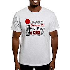 BELIEVE DREAM HOPE Diabetes T-Shirt