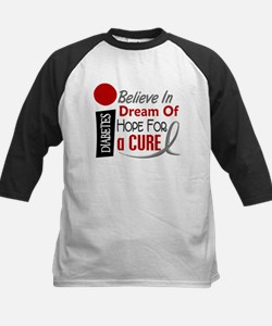 BELIEVE DREAM HOPE Diabetes Kids Baseball Jersey