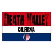 Death Valley Grunge Rectangle Decal