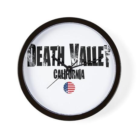 Death Valley Grunge Wall Clock