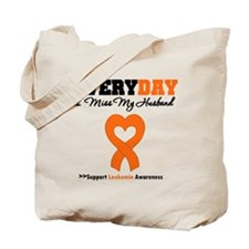 Leukemia MissMyHusband Tote Bag