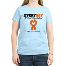Leukemia MissMyHusband T-Shirt