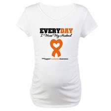 Leukemia MissMyHusband Shirt