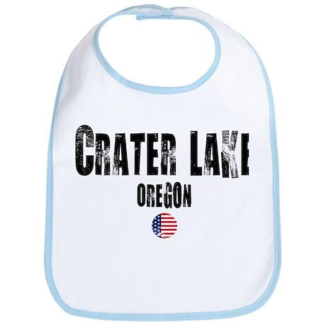 Crater Lake Grunge Bib
