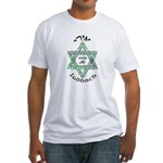 Irish Jew (Hebrew) Fitted T-Shirt