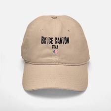 Bryce Canyon Grunge Baseball Baseball Cap