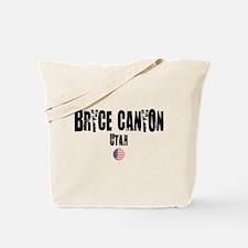 Bryce Canyon Grunge Tote Bag