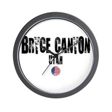 Bryce Canyon Grunge Wall Clock