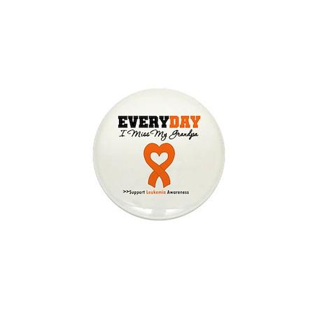Leukemia MissMyGrandpa Mini Button (10 pack)
