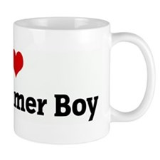 I Love My Drummer Boy Mug