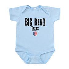 Big Bend Grunge Infant Bodysuit