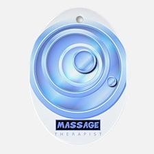 Massage Therapist Oval Ornament