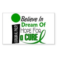 BELIEVE DREAM HOPE Cerebral Palsy Decal