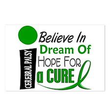 BELIEVE DREAM HOPE Cerebral Palsy Postcards (Packa