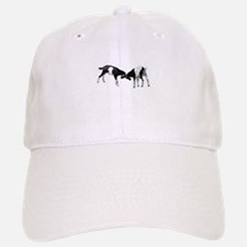 Goat on Baseball Baseball Cap