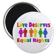 Love Deserves Equal Rights Magnet