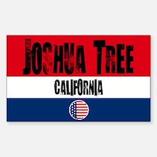 Joshua Tree Grunge Rectangle Decal