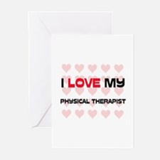 I Love My Physical Therapist Greeting Cards (Pk of