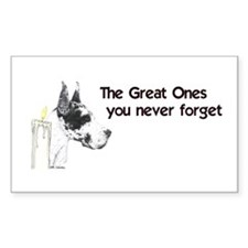 CH Great Ones Rectangle Decal