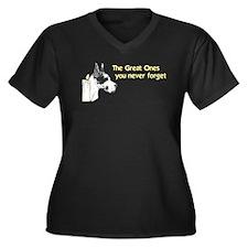 CH Great Ones Women's Plus Size V-Neck Dark T-Shir
