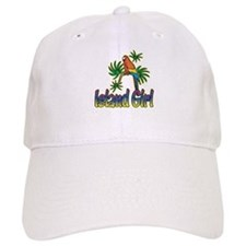 ISLAND GIRL Baseball Cap